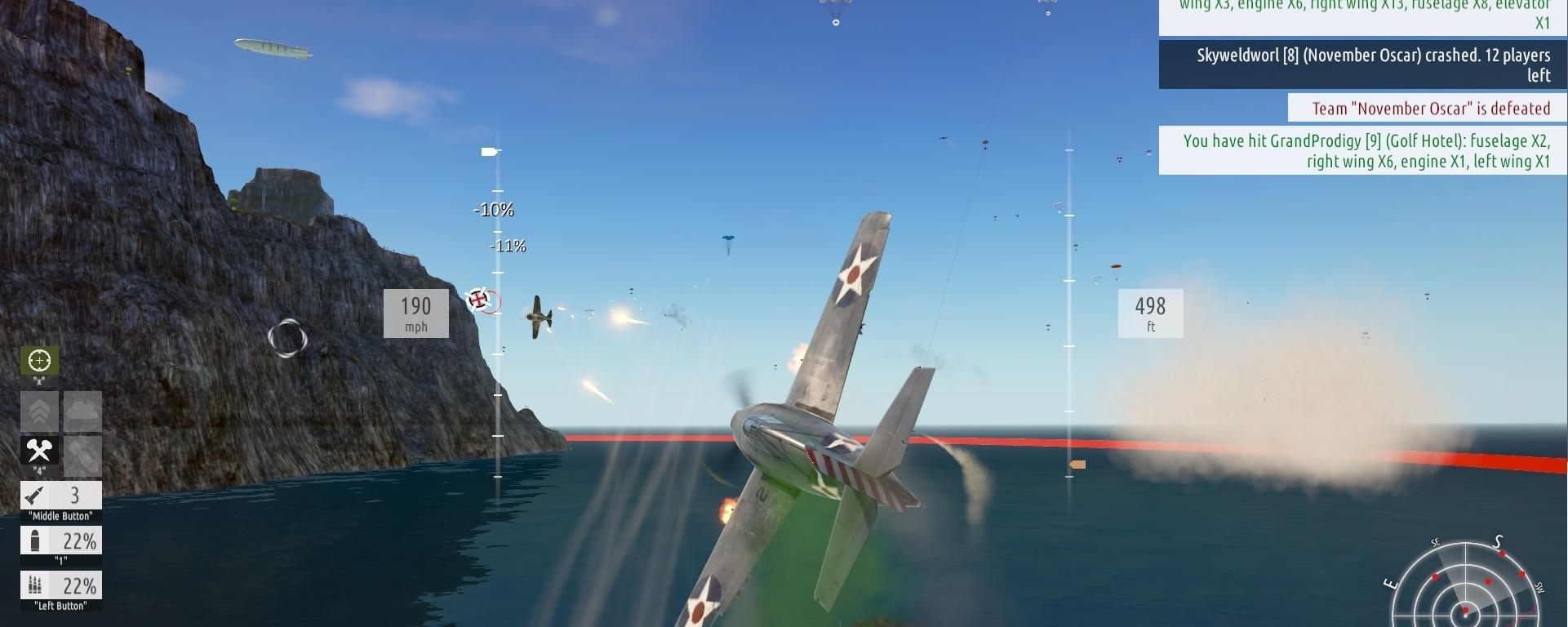 Fighter Royale vs. Battle Royale (PUBG)